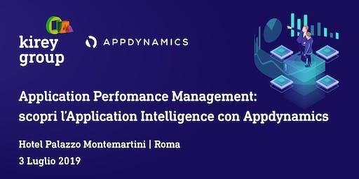 Application Perfomance Management: scopri l'Application Intelligence con Appdynamics