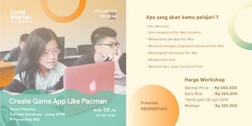 Create Game App Like Pacman