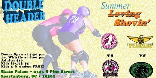 Kentucky Roller Derby Double Header