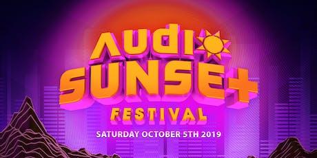 Audio Sunset Festival  tickets