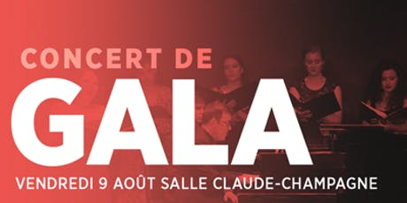 CONCERT DE GALA  billets
