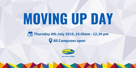 Moving Up Day - Wirral Met College tickets
