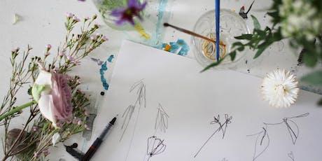 Flower Interpretation Drawing Workshop with Zena Hamon tickets
