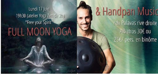 FULL MOON Yoga & Handpan concert