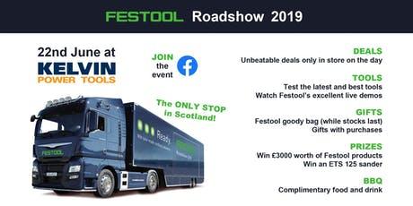 Festool Roadshow 2019 tickets