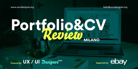 Portfolio & Curriculum Review biglietti