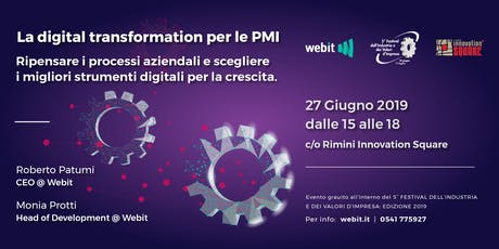 La Digital Transformation per le PMI biglietti