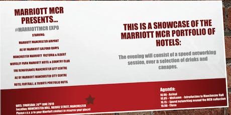 MarriottMCR Expo tickets