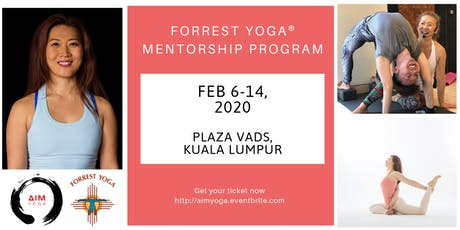 FORREST YOGA® MENTORSHIP PROGRAM [8-DAYS]  with SINHEE  tickets