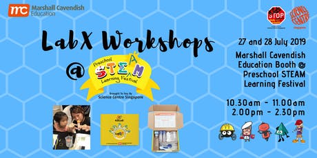 MCE  PROMO -- LabX  Kit & Workshop RSVP @ Preschool STEAM Learning Festival tickets