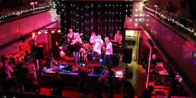 New Year's Eve Party with live music from Blind Panic