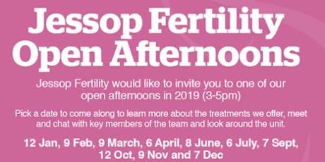 Jessop Fertility July open afternoon tickets