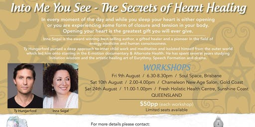 Into Me You See-The Secrets of Healing relationships Inna Segal + Ty Hungerford