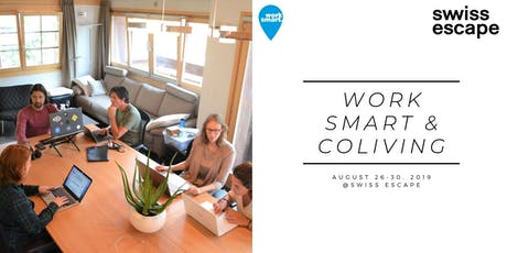 Work Smart Week @Swiss Escape tickets