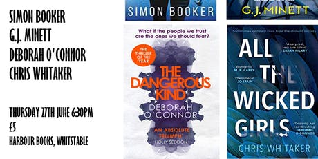 Partners in Crime: Book Talk with Crime Authors! tickets