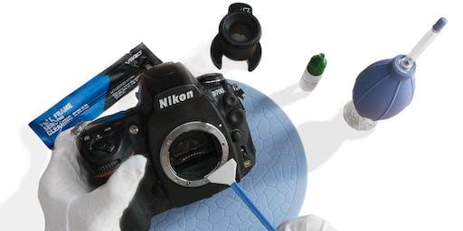 DSLR Workshop – How To Clean Your Sensor Saturday 20th September 2019