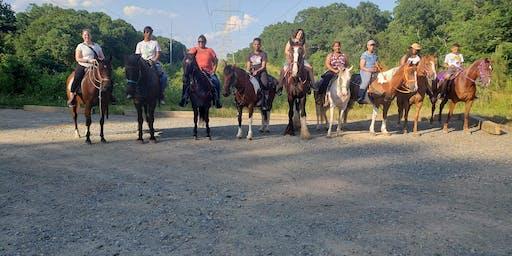 Horseback Riding & Line Dance