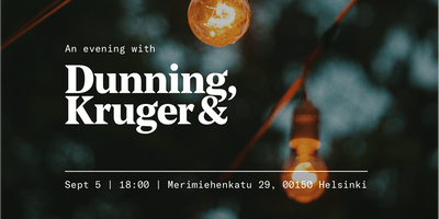 An evening with DK&A: Helsinki Design Week edition - VIP
