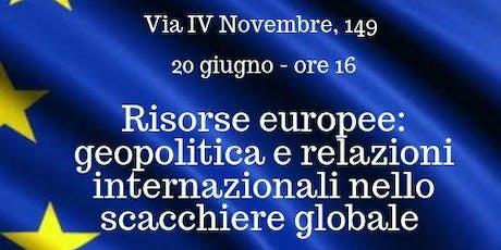 #domaniEuropa biglietti