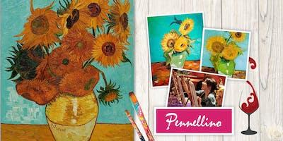 Paint like Van Gogh - Girasoli (Sunflowers)