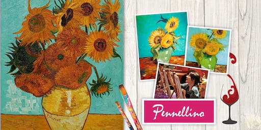 Paint like Van Gogh - Girasoli (Sunflowers)