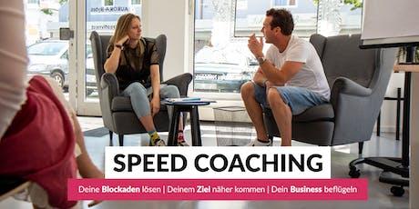 SPEED COACHING - Deine Blockaden lösen | Deinem Ziel näher kommen | Dein Business beflügeln Tickets