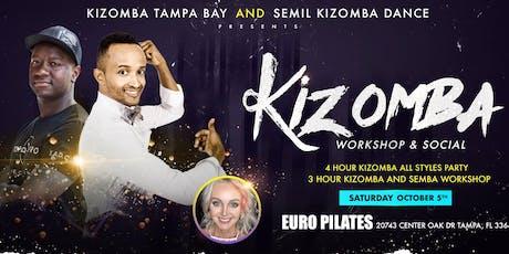 Kizomba/Semba Workshop and Social  tickets