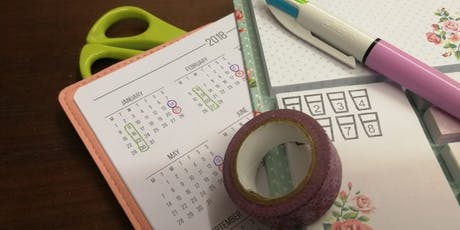Bullet Journals - Plan With Me Diary Club  tickets