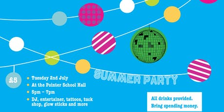 Pointer School Summer Party tickets