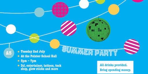 Pointer School Summer Party