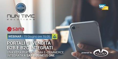 Sostieni la crescita aziendale con SANA_COMMERCE per SAP Business One biglietti