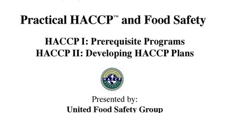Practical HACCP and Food Safety (4 days) tickets