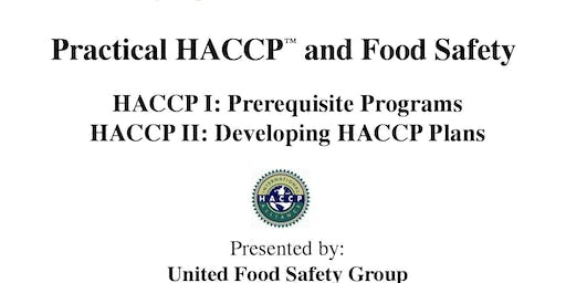 Practical HACCP and Food Safety (4 days) - Free Trial