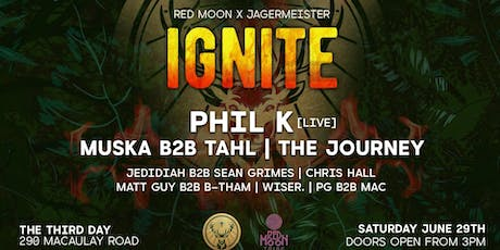 Red Moon x Jagermeister: Ignite tickets