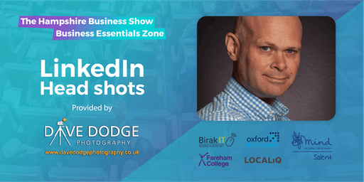 Hampshire Business Show Essentials: Professional LinkedIn Headshots