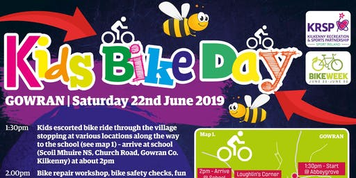 Kids Bike Day and 'Pollinators Picnic' 2019