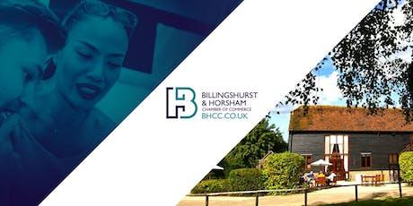 Billingshurst & Horsham Chamber of Commerce Networking Lunch tickets