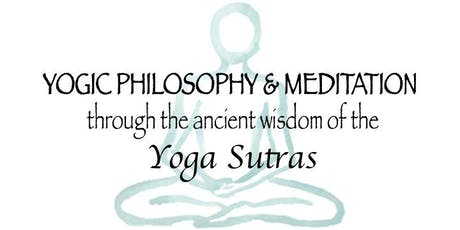 1/2 Day Workshop - Introduction to the Yoga Sutras tickets