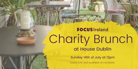 Charity Brunch at House Dublin tickets