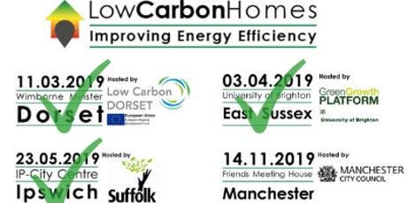 Low Carbon Homes - 2019 event series tickets