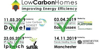 Low Carbon Homes - 2019 event series