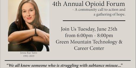 4th Annual Opioid Forum tickets