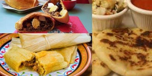 Convivencia Familiar con Tamales, Empanadas Chilenas y Pupusas