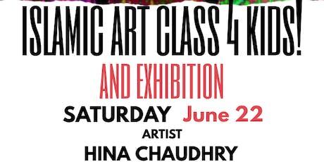 Islamic Art Class 4 Kids with Artist Hina Chaudhry, Corpus Christi tickets