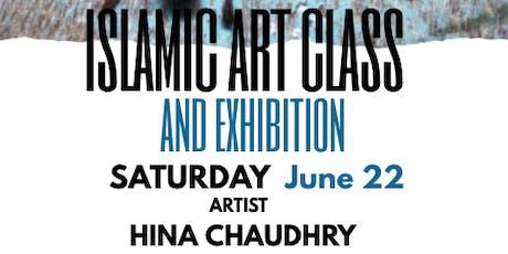 Islamic Art Class with Artist Hina Chaudhry, Corpus Christi tickets