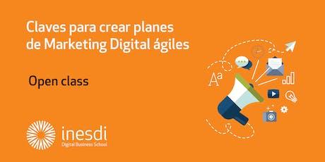 Claves para crear planes de Marketing Digital ágiles entradas