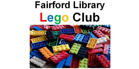 Fairford Library - Lego Club tickets