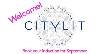 New student induction (Tuesday 17th Sept) tickets