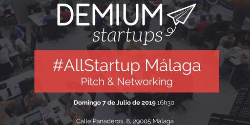 Pitch & Network #AllStartup Málaga