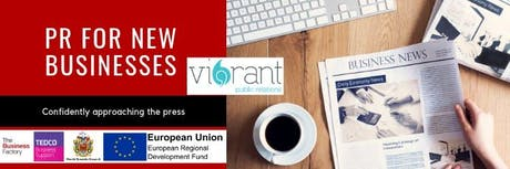 PR for New Businesses | Wednesday 19th June at 1pm at Royal Quays Business Centre tickets